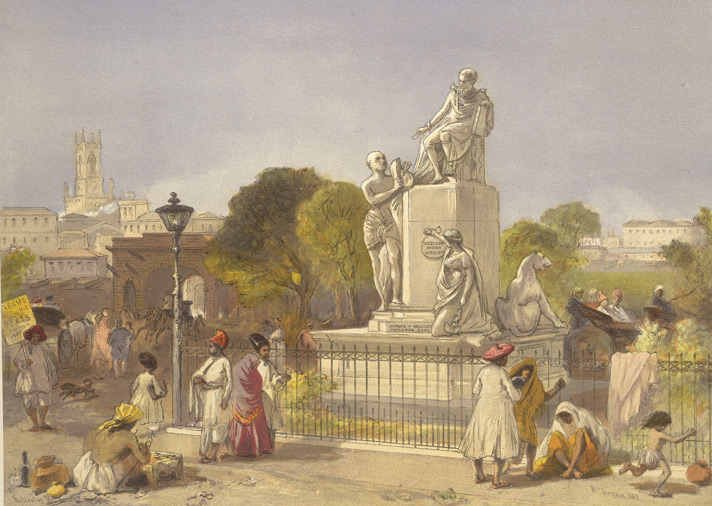 Lord Wellesley's monument at Bombay